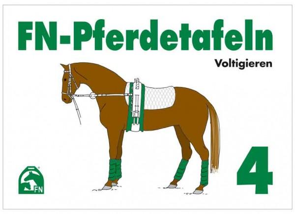 FN Pferdetafeln 4 Voltigieren