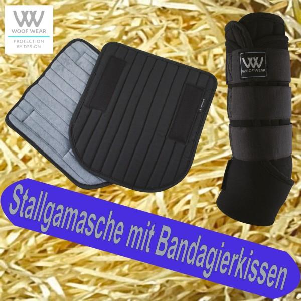 Woof Wear Stallgamasche mit Bandagierunterlage