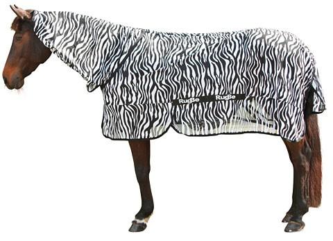 Fliegendecke und Ekzemerdecke Zebra RugBe