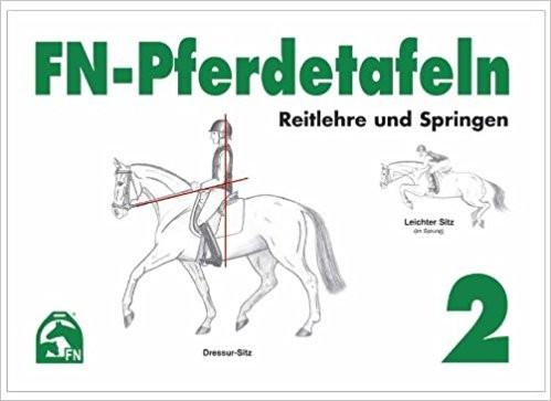 FN Pferdetafeln 2 Reitlehre und Springen