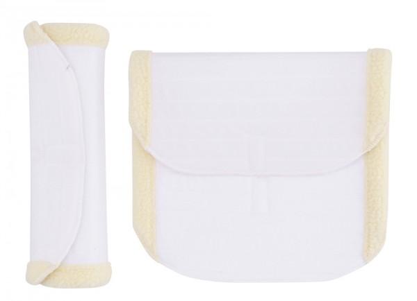 Horseguard Bandagierunterlagen mit Lammfellimitat