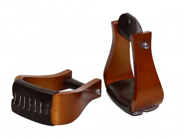 Deluxe Hardwood Bell Deluxe Steigbügel breiter Tritt