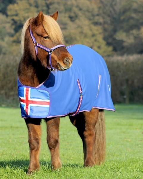 Abschwitzdecke Fleecedecke Iceland Star