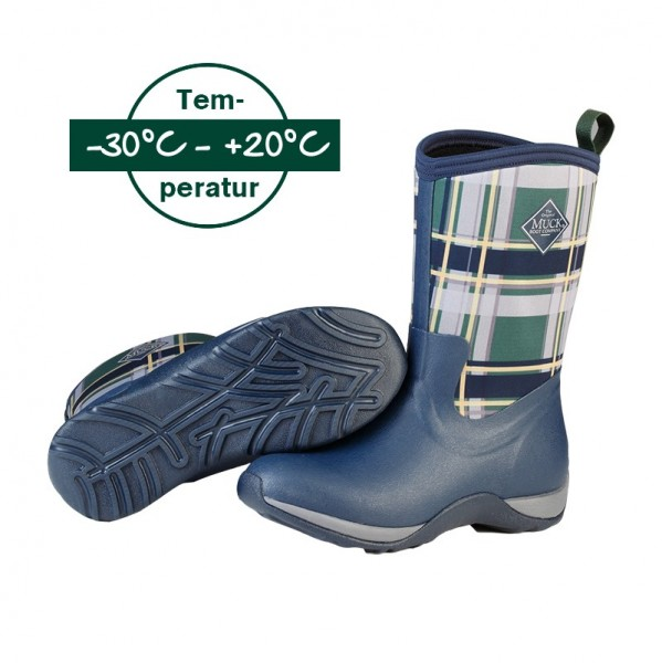 Muckboot Arctic Weekend Plaid